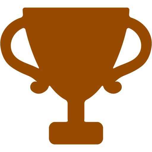 Brown Trophy Icon