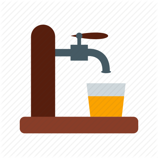 Alcohol, Bar, Barrel, Beer, Drink, Pub, Tap Icon