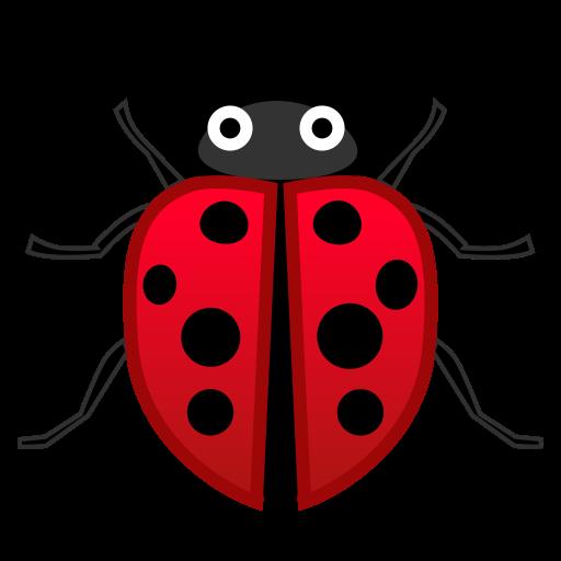 Lady Beetle Icon Noto Emoji Animals Nature Iconset Google