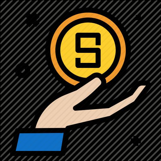 Dollar, Economy, Finance, Hand, Loan, Money Icon