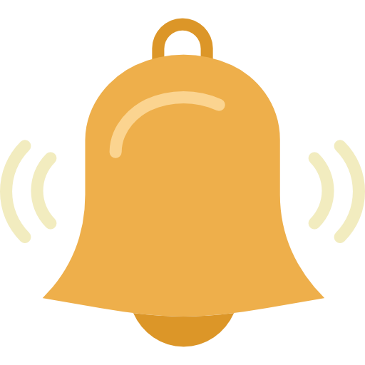 Alert Bell Icon Png Vector, Clipart