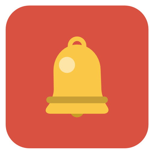 Bell Icon Flat Christmas Iconset Fps