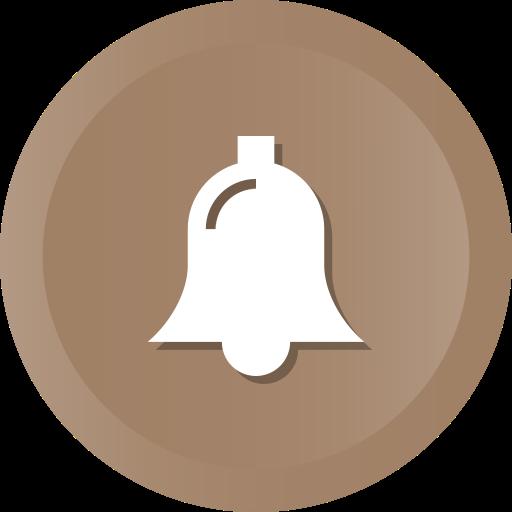 Alert, Bell, Christmas, Notification, Church Icon