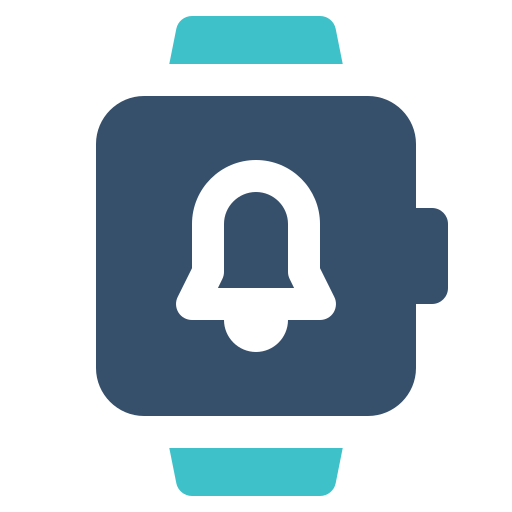 Bell, Notification, Smart, Watch Icon Free Of Smart Watch