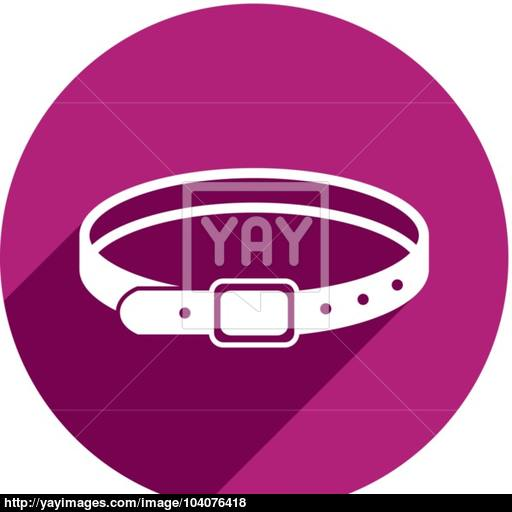 Belt Vector Icon Isolated Vector