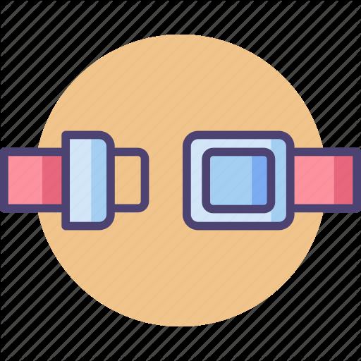 Belts, Safety, Safety Belt Icon
