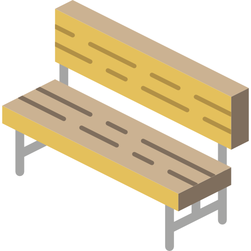 Bench Icon Furniture Smashicons