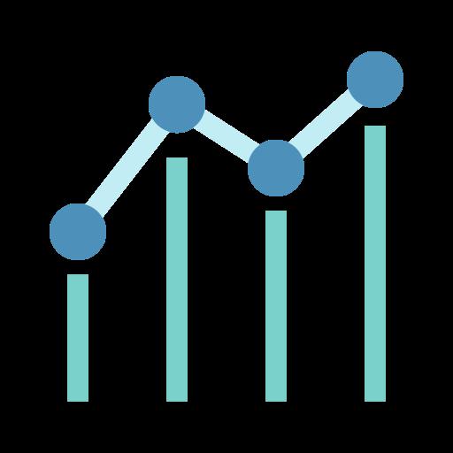 Chart, Graph, Seo, Benchmark Icon