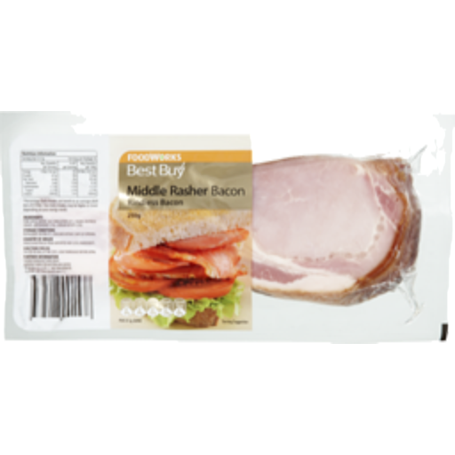 Best Buy Middle Bacon Rindless