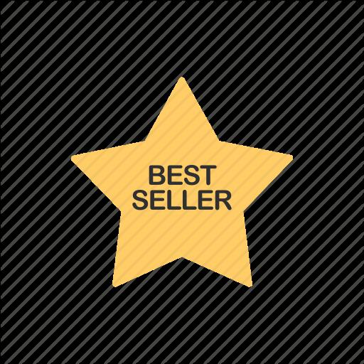 Award, Best Seller, Star, Top Icon