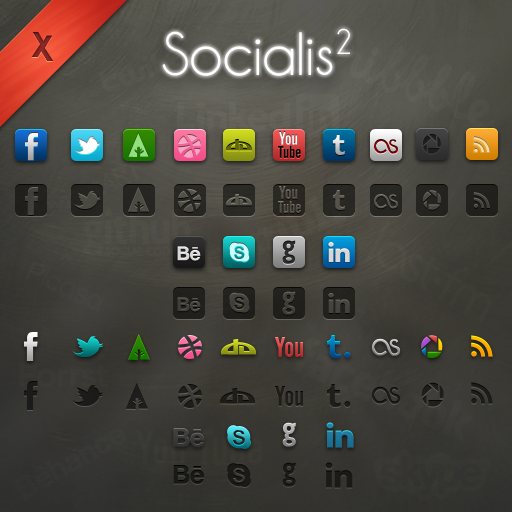 Beautiful Icon Sets Which Follow The Visual Experience