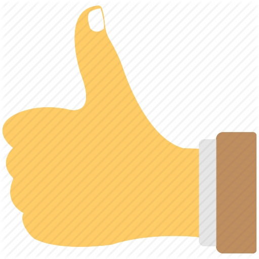 Best Luck, Good Luck, Hand Gesture, Thumb Sign, Thumbs Up Icon
