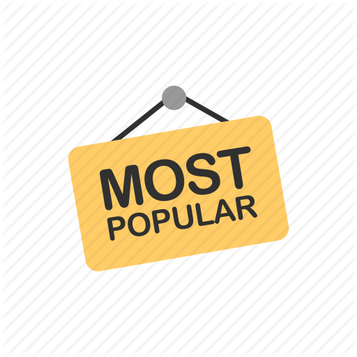 Best Seller, Favorite, Most Popular, Tag Icon