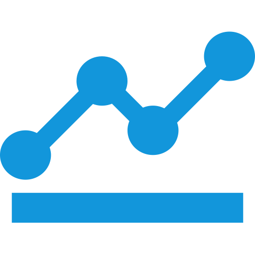 Bi Line Graph, Bi, Business Intelligence Icon Png And Vector