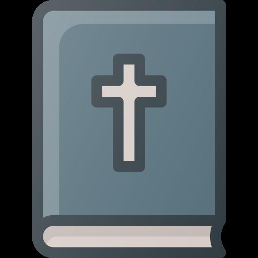 Bible, Book, Chritian, Cross Icon