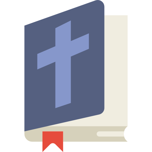 Book, Christianity, Christian, Bible, Religion, Education Icon