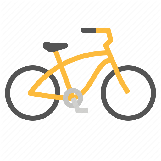 Bicycle, Bikes, Cruisers, Cycling, Riding Icon