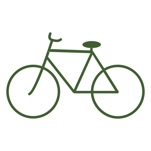 Vintage Bicycle Icon Bike