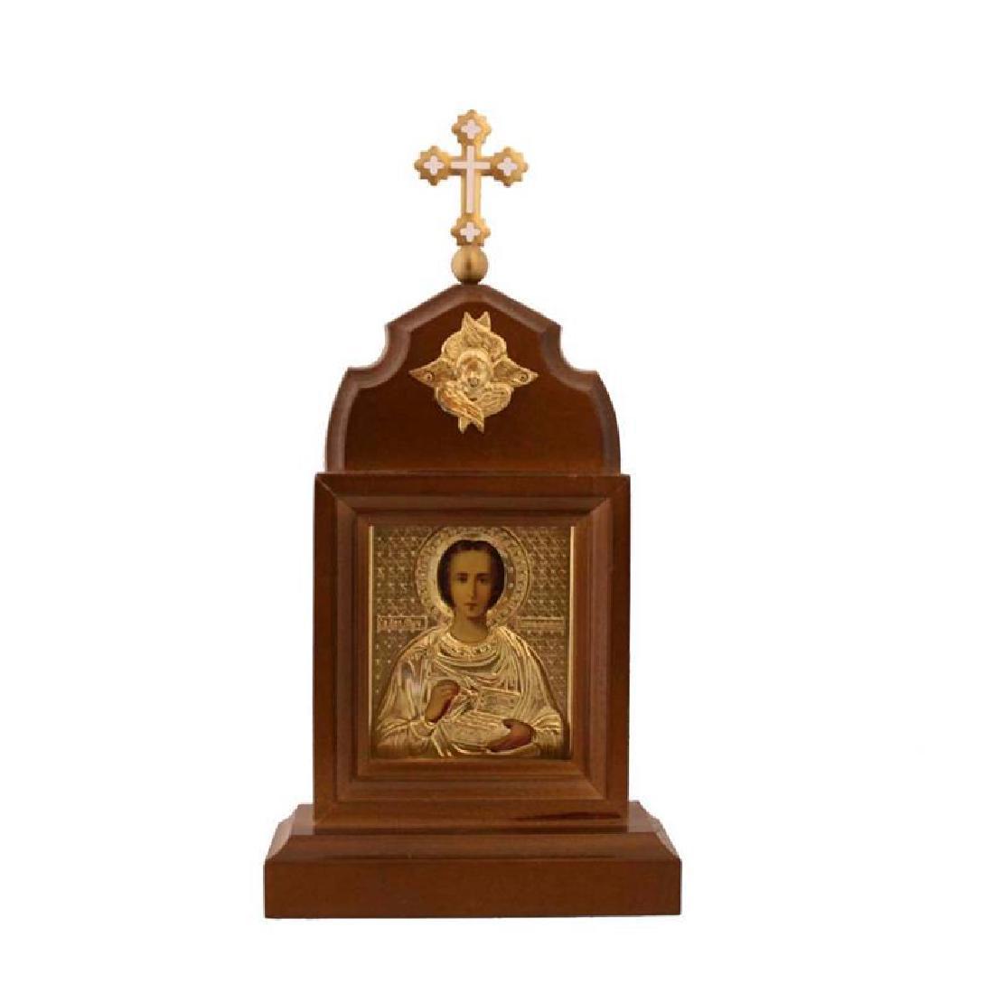 Russian Orthodox Icon St Panteleimon