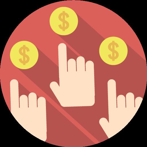 Bid, Money, Hands Icon Free Of Seo Marketing Icons