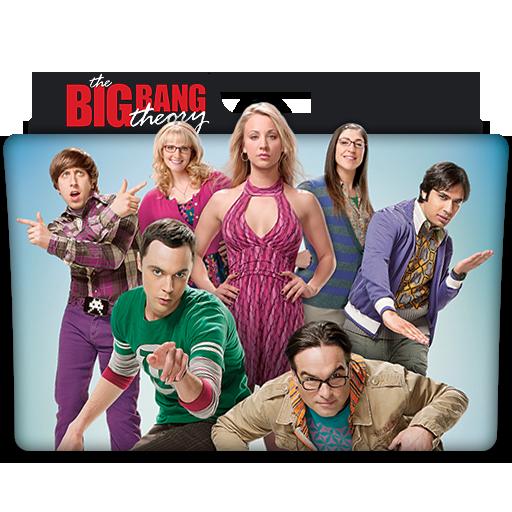 The Big Bang Theory Tv Series Folder Icon