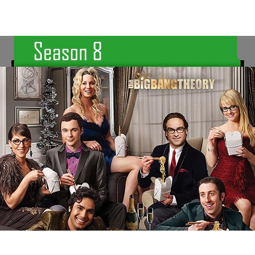 Big Bang Theory Season Folder Icon