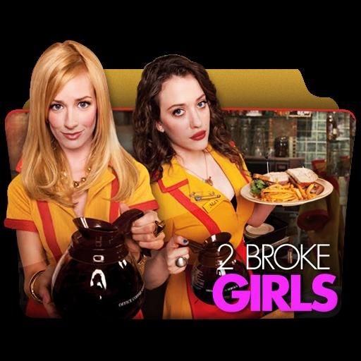 Broke Girls Icon Tv Series Folder Pack Iconset