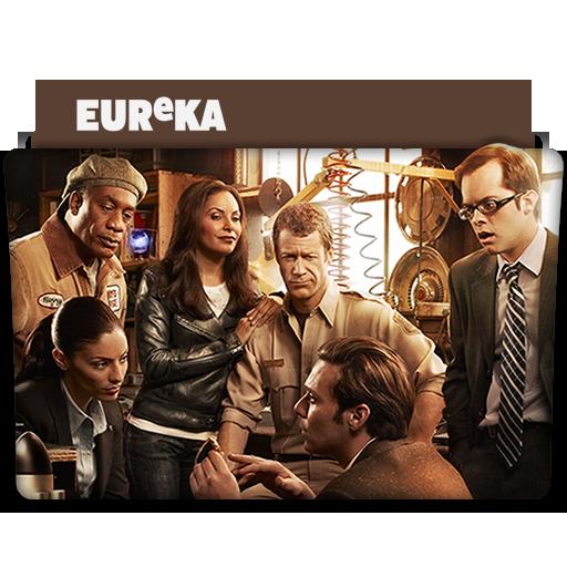 Eureka Show Eureka Tv Series Folder Icon
