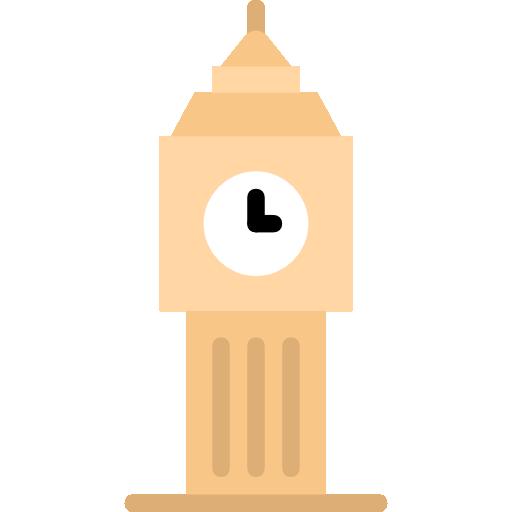 Big Ben Icon Monuments Smashicons