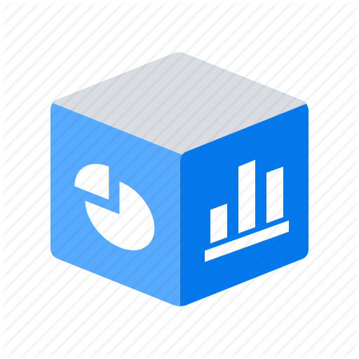 Analytics, Big Data, Diagrams, Olap, Report Icon