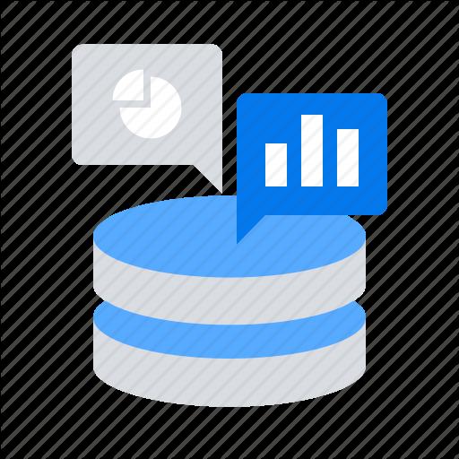 Analytics, Big Data, Server, Storage Icon