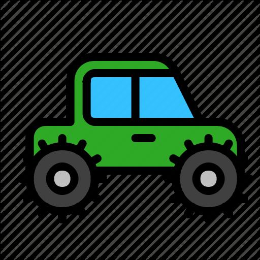 Bigfoot, Military, Transport, Truck, Vehicle Icon