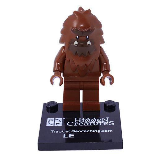 Bigfoot Trackable Figure