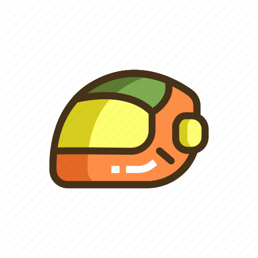 Bike Helmet, Helmet, Racing Helmet Icon