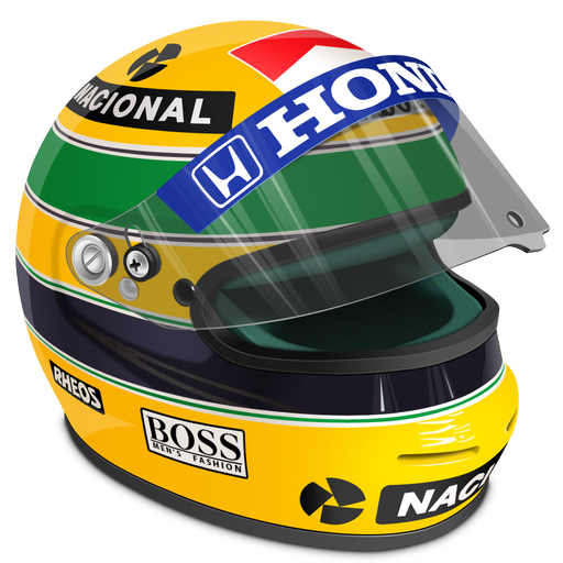 Senna Helmet Icon