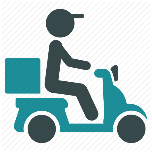 Motor Vector Motorbike Delivery Transparent Png Clipart Free