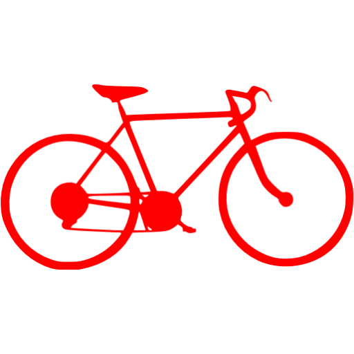 Red Bike Icon