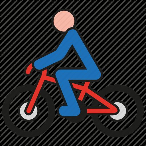 Bicycle, Bike, Biker, Cycle, Cycling, Sport, Wheel Icon