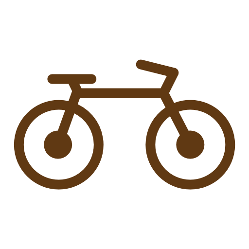 Solid, Travel, Tourism, Bicycle, Transport, Vehicles Icon Free