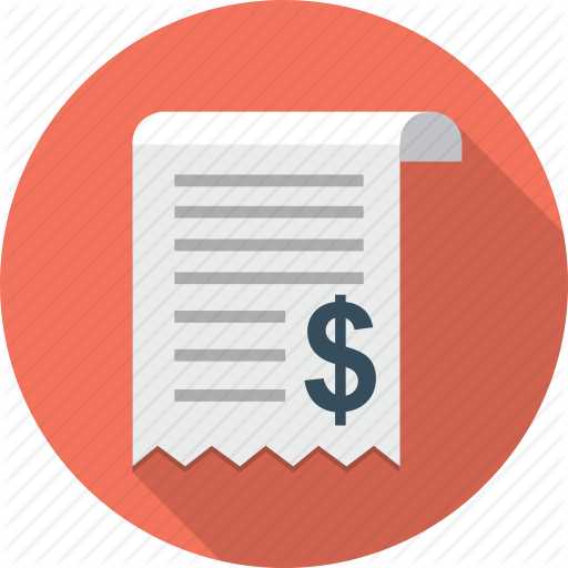Bill, Dollar, Invoice, Payment, Receipt Icon