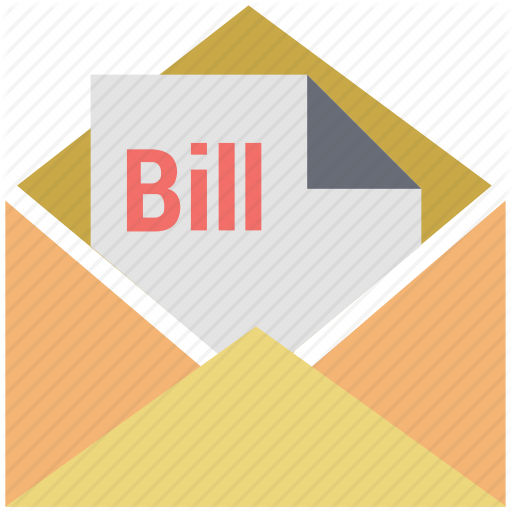 Bill Email, Bill In Letter, Email, Invoice, Letter, Letter