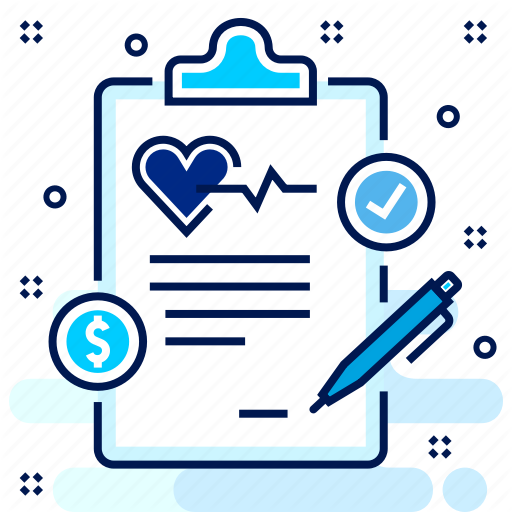 Clipboard, Health, Hospital, Insurance, Medical, Plan Icon