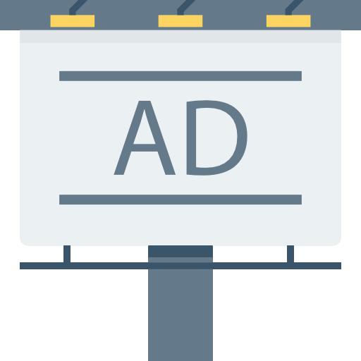 Billboard Icon Seo And Marketing Dinosoftlabs