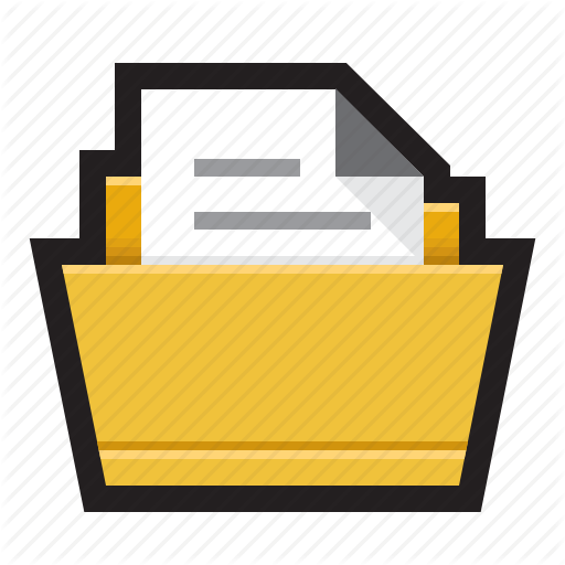 Binder, Directory, Documents, File, Files, Folder Icon