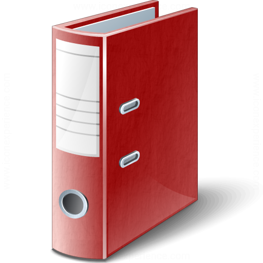 Iconexperience V Collection Folder Red Icon