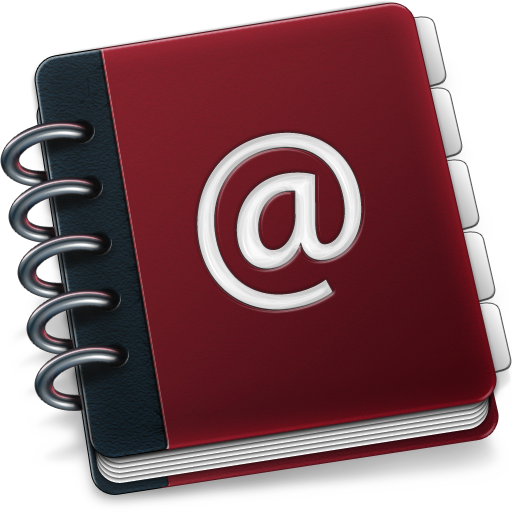 Ring Binder Address Book Icon