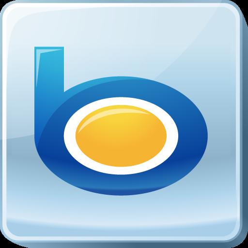 Bing, Logo, Media, Search Engine, Social, Social Media, Square Icon