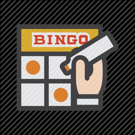 Bingo, Bingo Cards, Card Game, Eureka, Gambling, Game Icon
