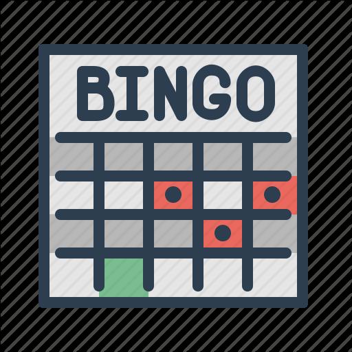 Bingo, Gamble, Lottery, Lotto Icon