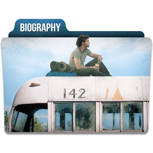 Biography Icon Movie Genres Folder Iconset Limav